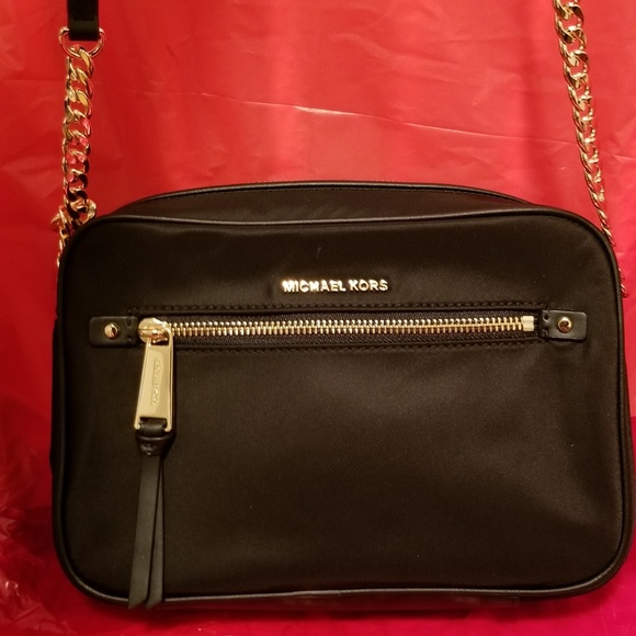 4f40eb3275d3 Michael Kors Bags | Polly Large Nylon Crossbody | Poshmark